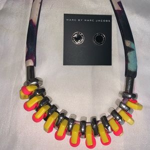Rare Marc by Marc Jacobs necklace and earrings